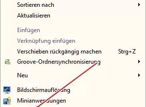 Papierkorb wiederherstellen unter Windows 7 0