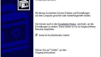 Photo of Backup erstellen mit Windows XP