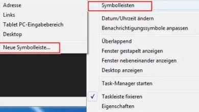 Photo of Windows 7 Schnellstartleiste aktivieren