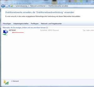 WLAN Passwort auslesen 3