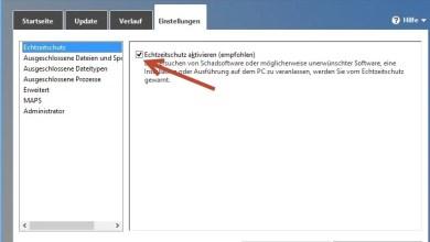 Photo of Windows 8 Defender Echtzeitschutz aktiviert/deaktivieren