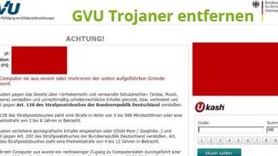GVU Trojaner entfernen – Anleitung zum entsperren von Windows 0