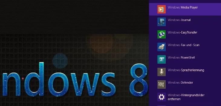 Windows 8.1 die neue Suchfunktion 0