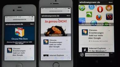 windowspower.de  für die Nutzung mit Smartphones und Tablets optimiert 0