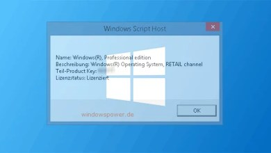 Photo of Windows 8/8.1 – Aktivierungsstatus anzeigen