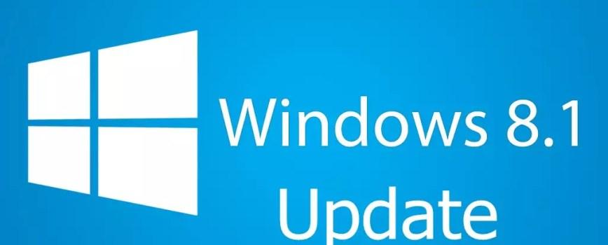 Windows 8.1 Update NEU 0