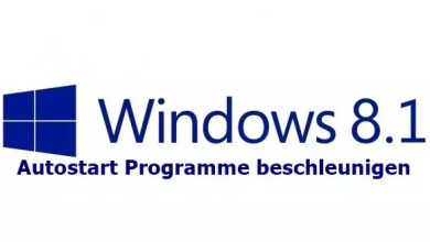 Photo of Windows 8/8.1 Autostart Programme beschleunigen