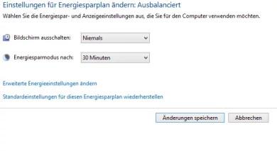 Photo of Automatische Abschaltung des Monitors verhindern bei Windows 8.1