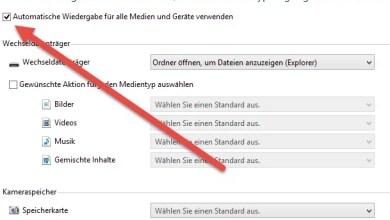 Photo of Automatische Wiedergabe deaktivieren unter Windows 8.1