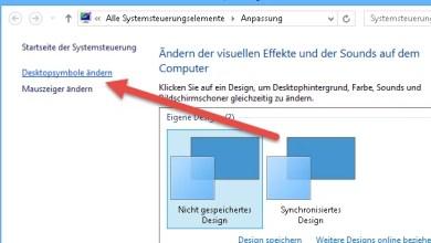 Papierkorb wiederherstellen unter Windows 8.1 0