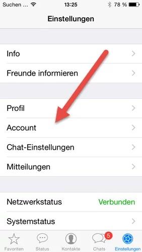 iphone account
