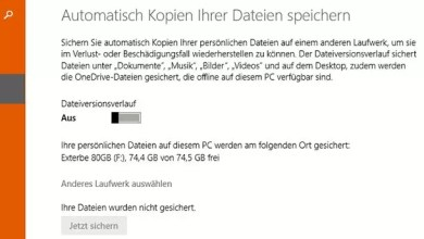 Photo of Windows-Backup Sicherung auf externe Festplatte erstellen