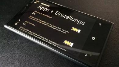 Photo of Windows Phone 8.1 Sicherungen erstellen