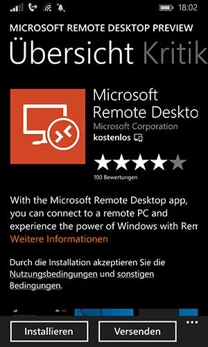 Microsoft-Remote-Desktop-App--Windows-Phone-Installieren