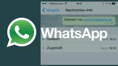WhatsApp – Wann ist die Nachrichten gelesen worden? 0