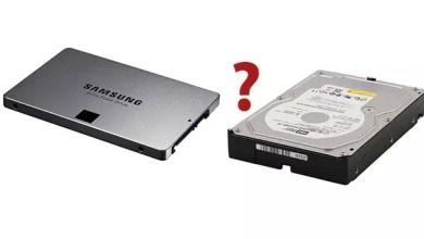Photo of Festplatte oder SSD? Welcher Laufwerkstyp ist im Rechner eingebaut?