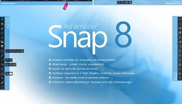 Ashampoo Snap 8 – Mehr als nur einfache Screenshots 0