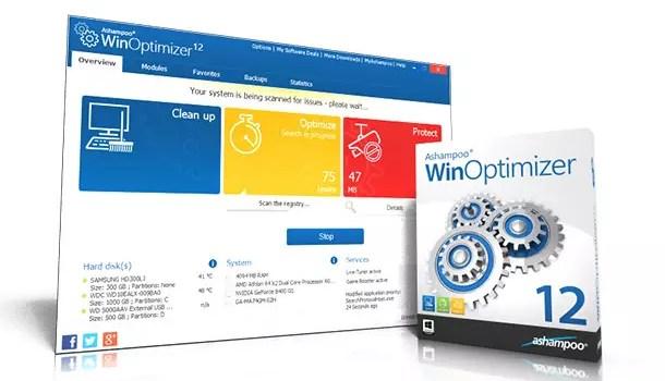 Ashampoo WinOptimizer 12 – System-Optimierung + 10 Vollversionen zu gewinnen 0