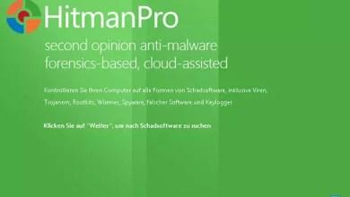 Infizierten Computer mit Hilfe von HitmanPro.Kickstart-USB-Stick starten 0