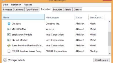 Photo of Windows 10 Autostart Programme deaktivieren