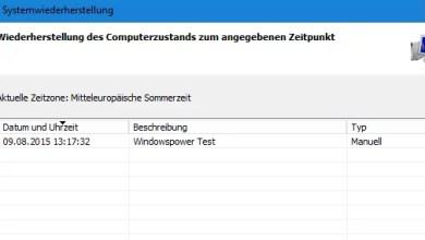 Photo of Windows 10 Systemwiederherstellung