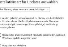 Photo of Installation für Updates einstellen bei Windows 10