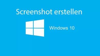 Photo of Screenshot erstellen mit Windows 10