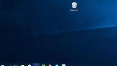 Photo of Windows 10 Papierkorb ausblenden und Dieser PC auf Desktop anzeigen