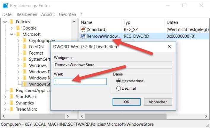 RemoveWindowsStore