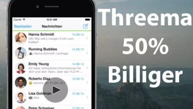 Nur Heute – Threema mobilen Messenger 50% billiger 0