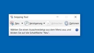 Photo of Snipping Tool – Screenshot erstellen bei Windows 10