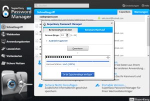 SuperEasy Password Manager PRO passwort generator