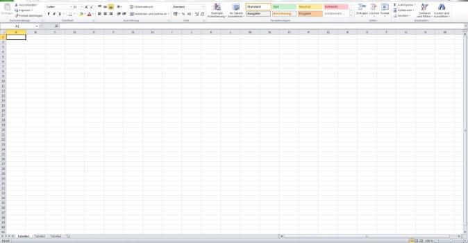 Office Excel Filter setzen und Zeile fixieren 0