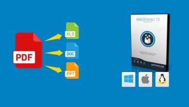 Photo of Able2Extract PDF Converter 10 – Der Beste PDF-Konvertern- 2 Lizenzen zu Gewinnen
