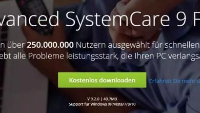 Photo of Iobit Advanced SystemCare