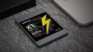 Photo of Drevo X1 Serie SSD 240GB Sata III für 49,99€