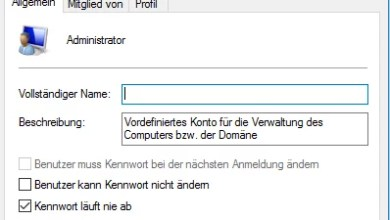 Photo of Administrator über die Computerverwaltung aktivieren