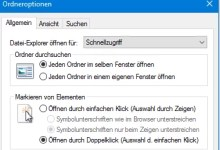 Photo of Windows 10: Einfach-Klick statt Doppelklick