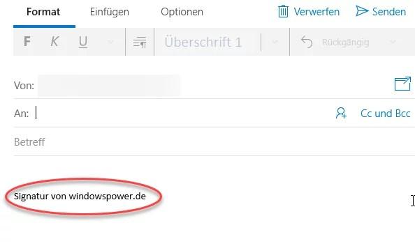 Windows 10 Mail: Signatur einrichten – So geht's 4