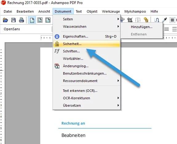 ashampoo-pdf-pro-pdf-datein-bearbeien-passwort-verschluesseln