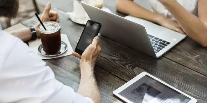 Mobile Webseite Responsive Design