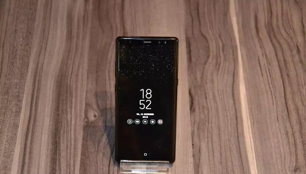 Samsung Galaxy Note 8 ausprobiert Tolles Smartphone mit toller Kamera 0
