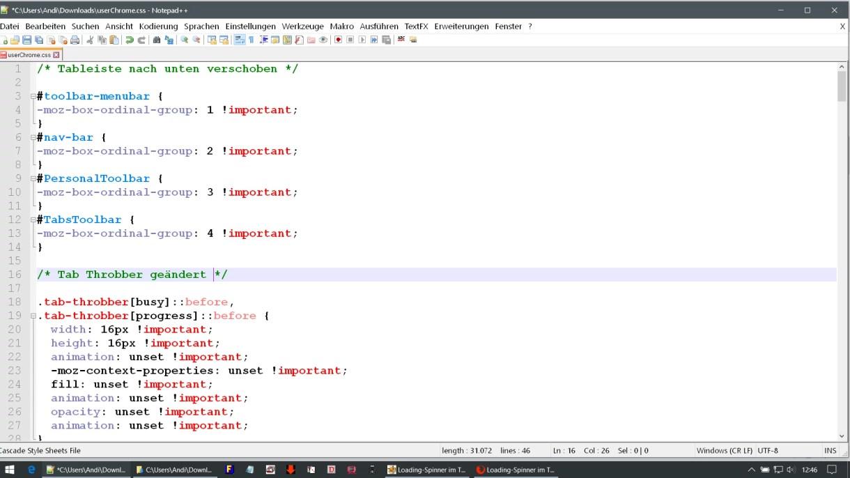 doppelter code