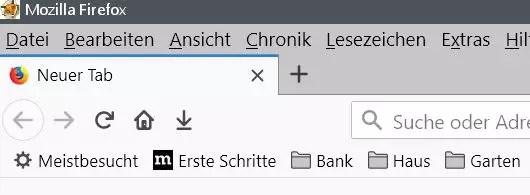 Firefox Den Lesezeichenordnern ein anderes Icon vergeben 0