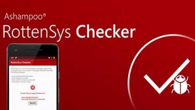 Ashampoo RottenSys Checker – Schützen Sie ihren Android Smartphone von Malware 0