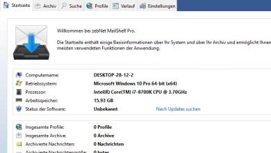 Photo of MailShelf Pro professionelle E-Mail-Archivierung – Wir verlosen 10 Lizenzen
