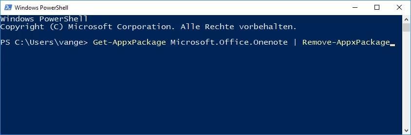 Windows 10: OneNote deinstallieren entfernen – so geht's 2