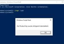 Photo of Windows 10 Lizenz deinstallieren und auf anderen Computer übertragen