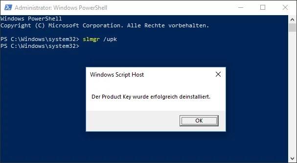 windows 10 lizenz deaktivieren