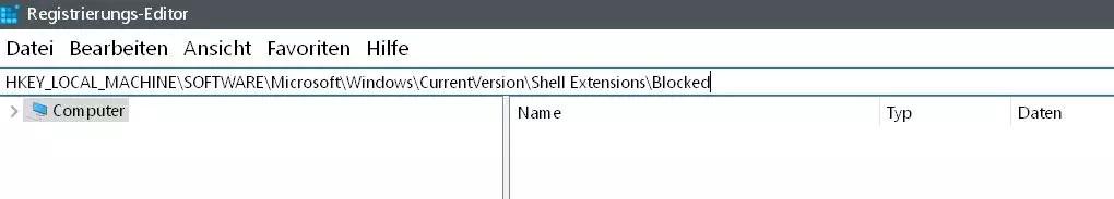 Windows 10 Vorgängerversion wiederherstellen aus dem Kontextmenü entfernen 3